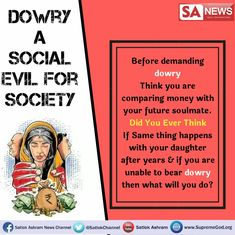 kill the dowry system Eternal Salvation, Sa News, Life Changing Books, Birth And Death, Stop Eating, Free Wedding, Slogan, Daughter, Teaching
