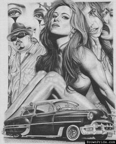 Brown Pride Art / Chicano Arte - BrownPride.com Photo Gallery (BP)