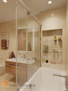 Фото: Дизайн ванной комнаты - Интерьер квартиры в современном стиле, ЖК «Дом у березового сада», 168 кв.м.