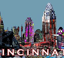 Cincinnati  posters 25% off Posters, Art Boards, Tapestries, Throw Pillows, and Duvet Covers with NEWHOME25