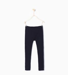 d9ef6ffe Organic cotton long leggings-Leggings-Leggings & Trousers-Girl-Kids | 4