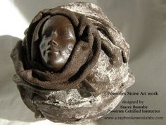 Stacey's Stone Art creation