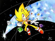 Super Sonic by FinikArt