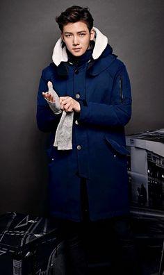 Ji Chang Wook, this picture makes him look kinda of like Lee Min Ho