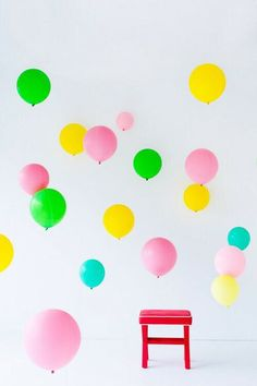 Image via We Heart It https://weheartit.com/entry/148036767 #amazing #balloon #balloons #banco #beautiful #blue #celeste #chair #colorful #cool #deco #delicate #fun #globo #globos #green #hotairballoon #lovely #Lucy #nice #pastel #photography #pink #rosa #yellow #banqueta