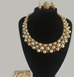 Jusdazzle is the most trusted online store for Necklaces and Jewellery sets. We offer attarctive fresh designs of Necklaces for women enriched with Pink and  White Royal pearl with encrusted Crystals. Having a wide delivery network at genuine prices, we assure to deliver your ordered product within the detailed time frame.