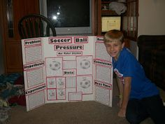 """One of the """"fun"""" things of 7th grade is the science fair projects.  Tyler decided that he wanted to do something about soccer.  As he though..."""