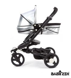 Yoga Newborn Nest, fits the Bloom Zen stroller. 2 recline position, parent facing newborn cradle can be used on or off the stroller.