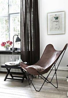silla Butterfly para decorar interiores