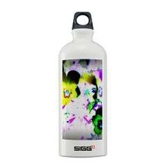 Violets Sigg Water Bottle