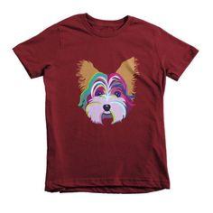 Yorkie Short sleeve kids t-shirt