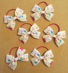 Cute hair bows and accessories for girls at www.dreambows.co.uk #bows #hair #girls