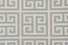 Premier Prints Towers Cotton Drapery Fabric in Village Blue/Natural CLOSEOUT