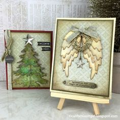 Richele Christensen: 12 Tags of 2015 / Holiday Card Series - October Inspiration