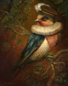 THE SWALLOW - THUMBELINA AND THE FOUR SEASONS - BY ANNIE STEGG