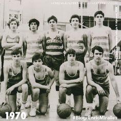#BiogrEnricMiralles El básquet será parte importante de su aprendizaje, llegando a ser campeón de España cat. Junior