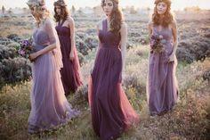 Romantic Bridesmaid Dresses, Mismatched Bridesmaid Dresses, Wedding Bridesmaid Dresses, Wedding Party Dresses, Party Gowns, Lilac Bridesmaid, Lace Bridesmaids, Party Wedding, Vestido Multicolor
