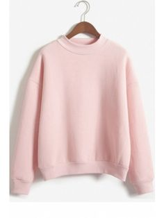 7489c4694 Harajuku Pastel Peach Pink Hoodies Sweatshirts for Womens (£15 ...