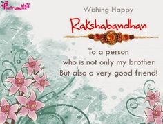 Raksha bandhan raksha bandhan sms quotes poems greetings much raksha bandhan greeting cards for sister and brother with best wishes poetry m4hsunfo