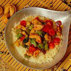 Pollo y Arroz con habichuelas... Puerto Rican food