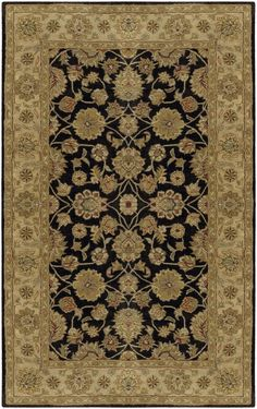 The Crowne area rug Collection offers an affordable assortment of Traditional stylings.