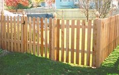 Backyard Fence Ideas | Dog Ear Picket Fence