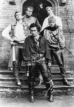 Adam and the Ants was a new wave band during the late and early It was one of the bands at the time that marked the transition from the punk rock era to the new-wave post punk-music era. Although the band started off with a punk-influenc Adam Ant, Ant Music, Rock Music, Woody Allen, Rock Roll, Glam Rock, Mick Jagger, Black Power, Hard Rock