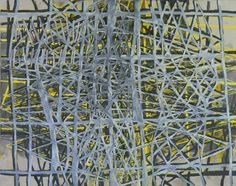 Terry Winters    Parallel Rendering 2    1997    Oil and alkyd resin on canvas  2438 x 3200 mm