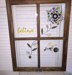 Hey, I found this really awesome Etsy listing at https://www.etsy.com/listing/272088762/painted-old-window-mosaic-window-old