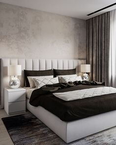 Beautiful bedrooms 34 best bedroom ideas to choose 8 Luxury Bedroom Design, Master Bedroom Design, Home Decor Bedroom, Bedroom Furniture, Bedroom Ideas, Furniture Design, Beds Master Bedroom, Indie Bedroom, Bedroom Rugs