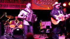 Dwayne Verheyden & Flaco Jimenez Tejano Conjunto Festival 2013 may San A...