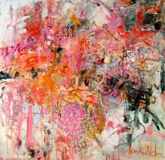 """Saatchi Online Artist Sandy Welch; Painting, """"She took the fashion world by storm"""" #art"""