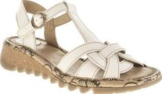 Fly London Stone Tews Womens Sandals Sandals come in Two by Tews, hoorah, hoorah. Yip, we know summer is on its way when Fly London provide us with their latest designs. The 4cm wedge sandal arrives in a white leather featuring an ankle  http://www.comparestoreprices.co.uk/january-2017-8/fly-london-stone-tews-womens-sandals.asp