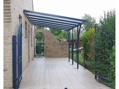 steel carport (polycarbonate covering) LINÉO Abri plus