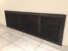 Custom size large air intake return vent cover