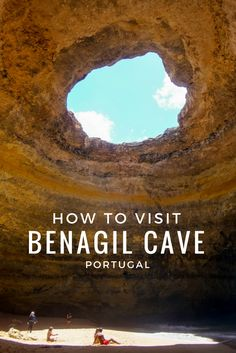 How to Best Visit Benagil Cave, Portugal A spectacular formation in the Algarve region, Benagil can only be reached from the water. Here's the scoop how to visit Benagil Cave the awesome way: Portugal Vacation, Portugal Travel Guide, Portugal Trip, Hotels In Portugal, Best Places In Portugal, Europe Travel Tips, European Travel, Travel Destinations, Backpacking Europe