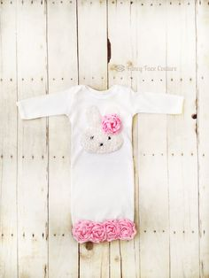 Easter Bunny Outfit Baby Girl Newborn Layette