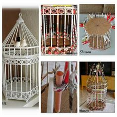 1 million+ Stunning Free Images to Use Anywhere Diy Projects For Adults, Diy Projects To Try, Wire Crafts, Diy And Crafts, Craft Gifts, Diy Gifts, Diy Bird Cage, Paper Weaving, Ideias Diy