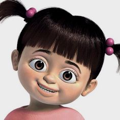 Boo from monsters inc! my mom said this is what i used to look like...kelsey