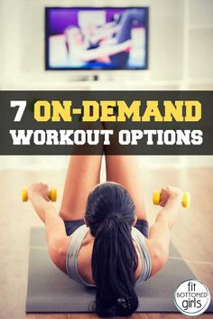 Looking for a new workout? Try one of these great on-demand services for inspiration! | Fit Bottomed Girls