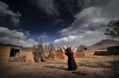 Bajiao City Ruins in Gansu, Silk Road China