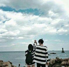 Relationship Goals Pictures, Couple Relationship, Parejas Goals Tumblr, Romantic Boyfriend, Boy Best Friend, Boy Photography Poses, Anime Couples Drawings, Korean Couple, Ulzzang Couple