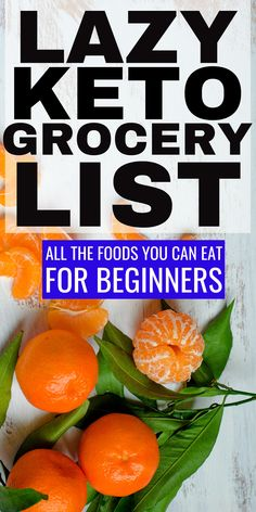 Lazy Keto Grocery List with all the foods you can eat for beginners and net carbs keto ketogrocerylist lowcarbgrocerylist grocerylist ketobeginners ketoforbeginners Ketogenic Diet Meal Plan, Ketogenic Diet For Beginners, Keto Diet For Beginners, Keto Meal Plan, Diet Meal Plans, Ketogenic Recipes, Keto Recipes, Dinner Recipes, Basics Of Keto Diet
