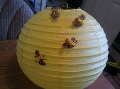Bee hive for whinnie the pooh baby shower