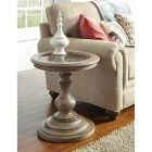 Riverside Corinne Round End Table