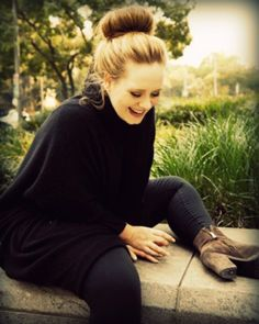 She is not perfect! But certainly Pitch perfect, an absolute role model, the amazing, ADELE!!!!!!