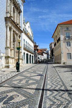 Art in pavements, Aveiro