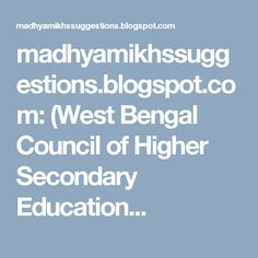 Hs philosophy suggestion 2017 for final exam hs exam wbchse west bengal council of higher secondary education h english suggestion 2017 for test exam higher secondary suggestion hs english suggestion fandeluxe Images