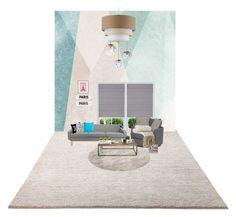 """Living Room, Designed by me."" by uveyskartalx on Polyvore featuring interior, interiors, interior design, ev, home decor, interior decorating, ESPRIT, Sandberg Furniture, NDI ve Rosanna"