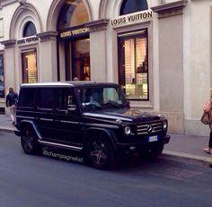 Louis Vuitton x Mercedes